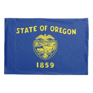 Patriotische Single-Kissenbezugflagge von Oregon, Kissen Bezug