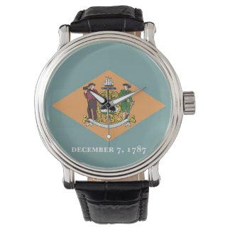 Patriotische, spezielle Uhr mit Flagge von