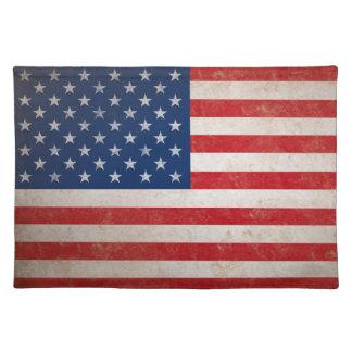 Patriotische Sterne der Flagge-50 Tischset
