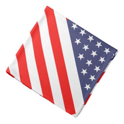 Patriotische Sterne u. Streifen amerikanische Kopftücher
