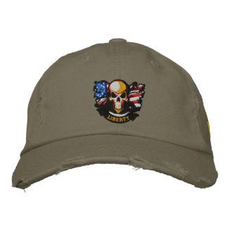 Patriotische Stickerei Bestickte Kappe