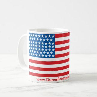 Patriotische Tasse des Kaffees 11oz