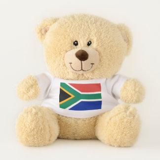 Patriotische Teddybärflagge von Südafrika Teddybär
