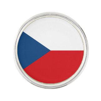 Patriotische Tschechische Republik-Flagge Anstecknadel