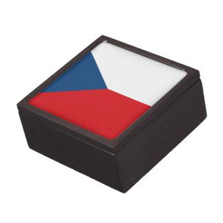 Patriotische Tschechische Republik-Flagge Schachtel