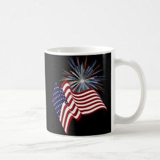 Patriotische US-Tasse Kaffeetasse