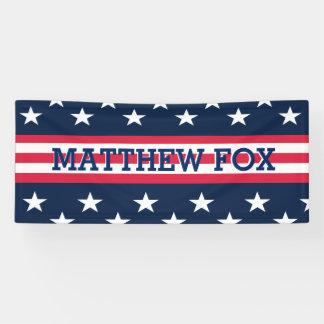 Patriotische USA-Stern-Streifen-amerikanische Banner