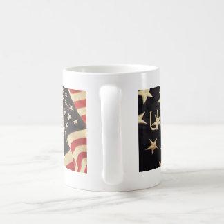 Patriotische USA-Tasse Kaffeetasse