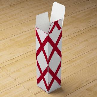 Patriotische Wein-Geschenkboxen mit Flagge von Wein-Geschenkverpackung