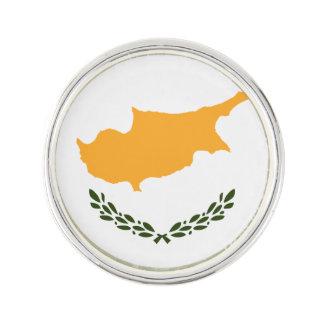Patriotische Zypern-Flagge Anstecknadel