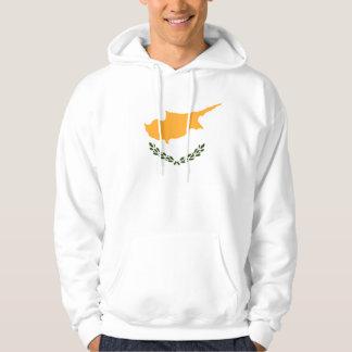 Patriotische Zypern-Flagge Hoodie