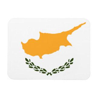 Patriotische Zypern-Flagge Magnet