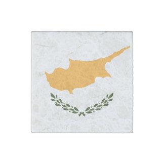 Patriotische Zypern-Flagge Stein-Magnet