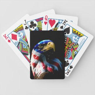 Patriotischer Amerikaner Eagle Bicycle Spielkarten