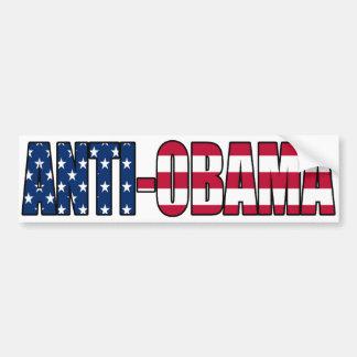 Patriotischer Anti-Obama-Autoaufkleber Autoaufkleber