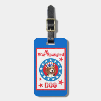 Patriotischer Beagle Kofferanhänger