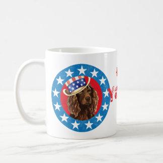 Patriotischer Boykin Spaniel Kaffeetasse