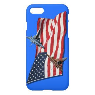Patriotischer Eagles-Telefon-Kasten iPhone 8/7 Hülle