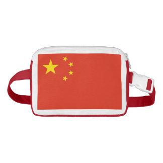 Patriotischer Fanny-Satz mit Flagge der China Bauchtasche