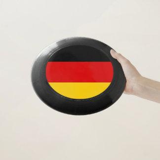 Patriotischer Frisbee mit Flagge von Deutschland