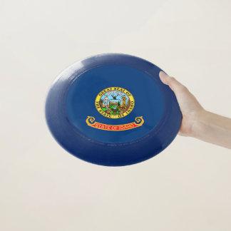 Patriotischer Frisbee mit Flagge von Idaho