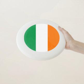 Patriotischer Frisbee mit Flagge von Irland