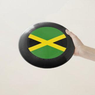Patriotischer Frisbee mit Flagge von Jamaika
