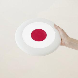 Patriotischer Frisbee mit Flagge von Japan