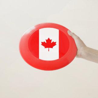 Patriotischer Frisbee mit Flagge von Kanada