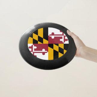Patriotischer Frisbee mit Flagge von Maryland