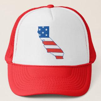 Patriotischer Hut Kaliforniens Truckerkappe