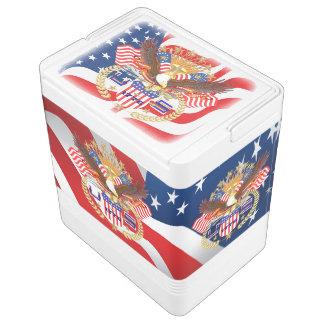 Patriotischer Iglu 24 kann cooler Igloo Kühlbox