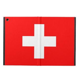 Patriotischer ipad Fall mit Flagge von der Schweiz