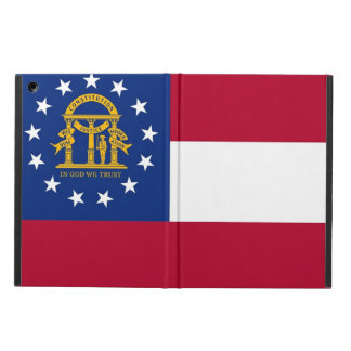 Patriotischer ipad Fall mit Flagge von Georgia