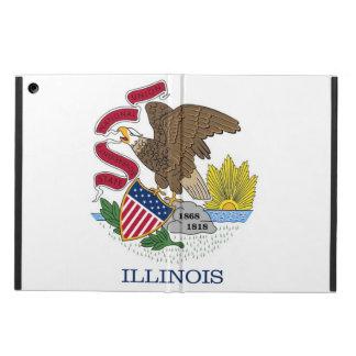 Patriotischer ipad Fall mit Flagge von Illinois