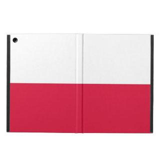 Patriotischer ipad Fall mit Flagge von Polen