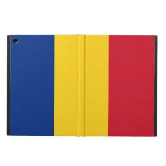 Patriotischer ipad Fall mit Flagge von Rumänien