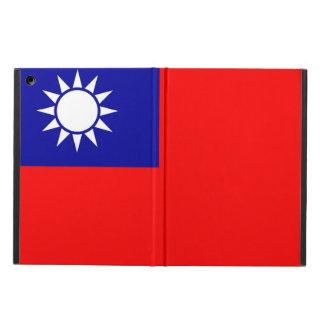 Patriotischer ipad Fall mit Flagge von Taiwan