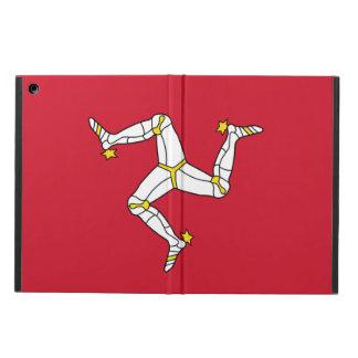 Patriotischer ipad Fall mit Isle of Man-Flagge,