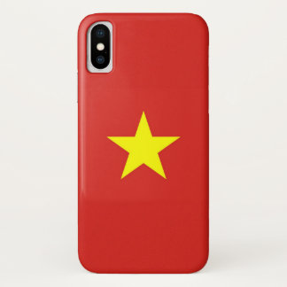 Patriotischer Iphone X Fall mit Vietnam-Flagge iPhone X Hülle