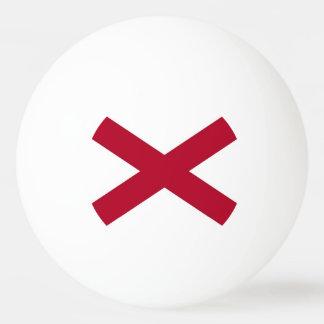 Patriotischer Klingeln pong Ball mit Flagge von Ping-Pong Ball