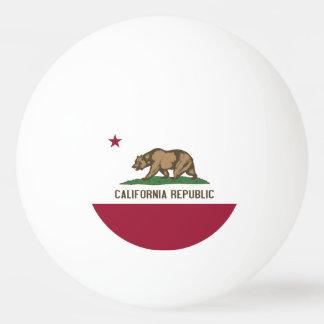 Patriotischer Klingeln pong Ball mit Flagge von Tischtennis Ball