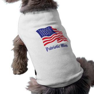 Patriotischer Mamma-/der Mutter Tag Shirt