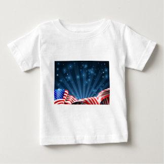 Patriotischer oder politischer Entwurf der Baby T-shirt