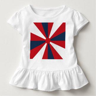 Patriotischer Pinwheel Kleinkind T-shirt