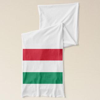 Patriotischer Schal mit Flagge von Ungarn