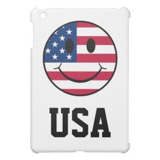 Patriotischer smiley iPad mini hülle