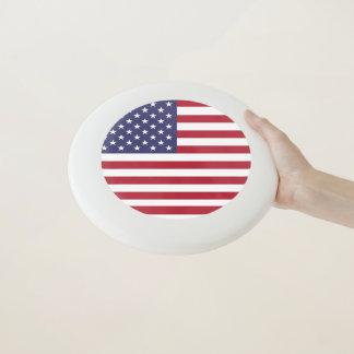 Patriotischer, spezieller Frisbee mit Flagge von