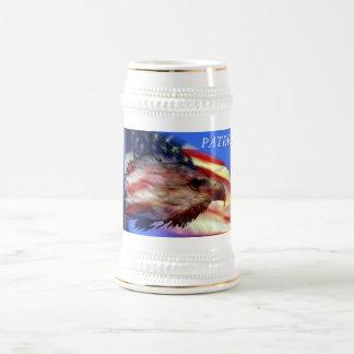 Patriotischer Stein Bierkrug