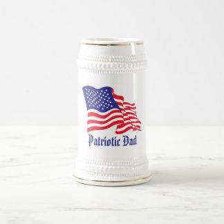 Patriotischer Vati Bierkrug
